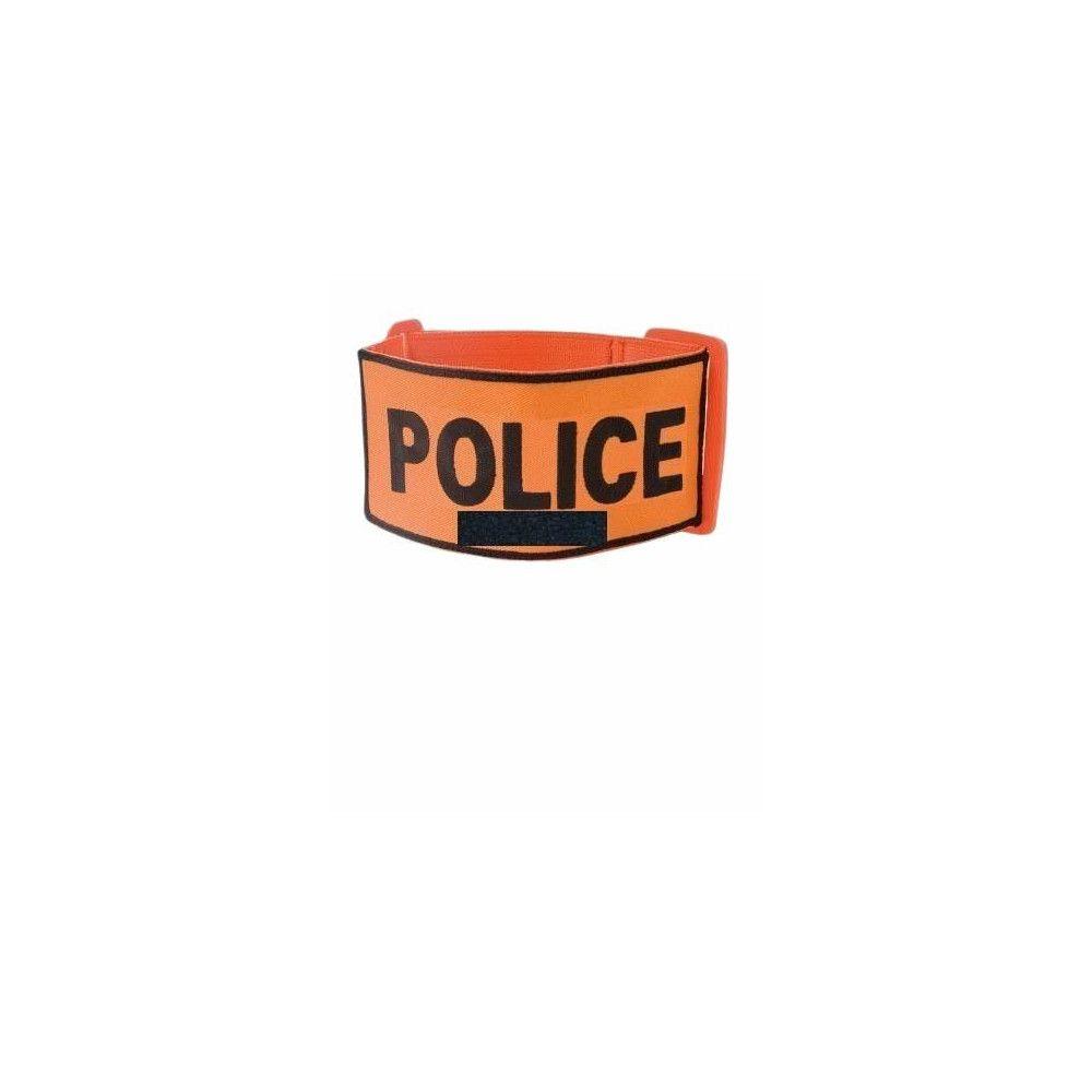 Brassard Police Reglable avec support velcro numéro RIO