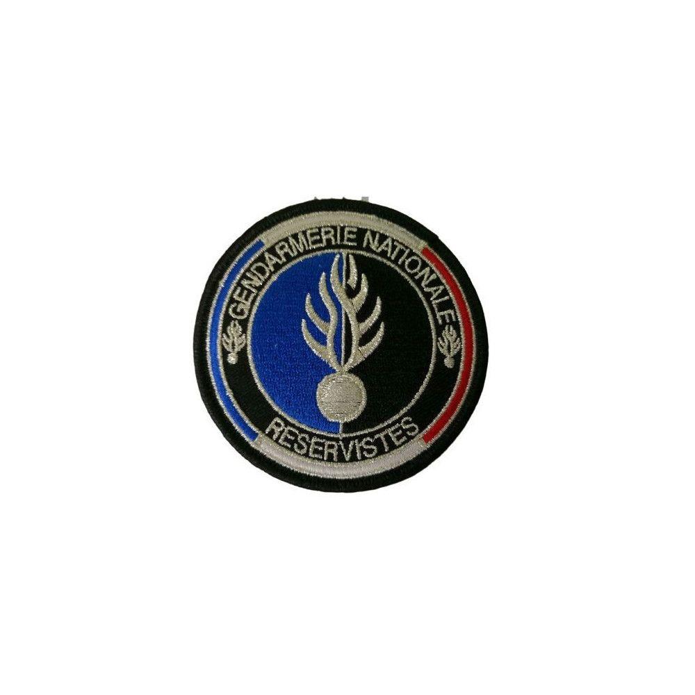 Ecusson de bras brodé Gendarmerie Nationale Réserviste