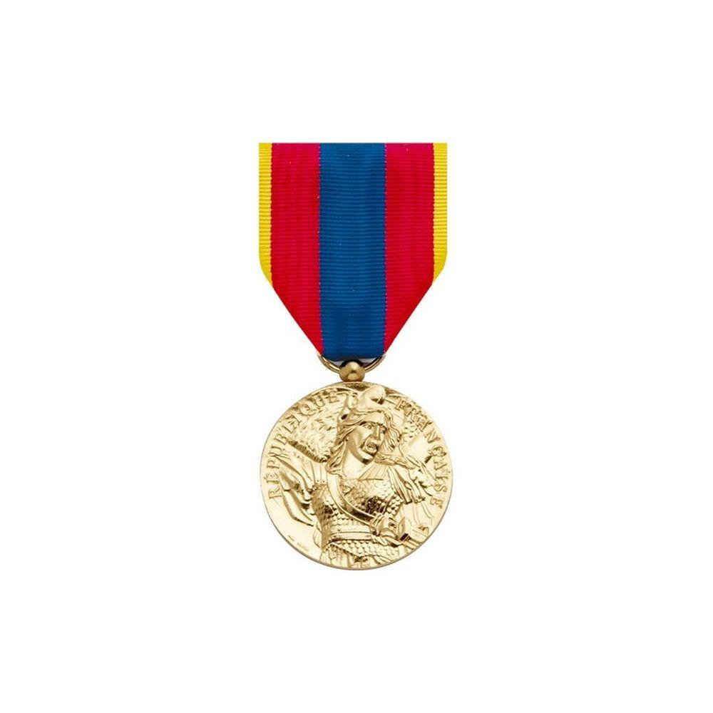 Médaille pendante défense nationale or