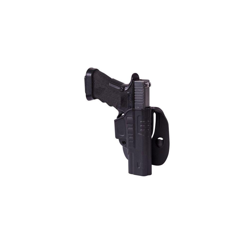 Étui rapide pour Glock 17 avec paddle