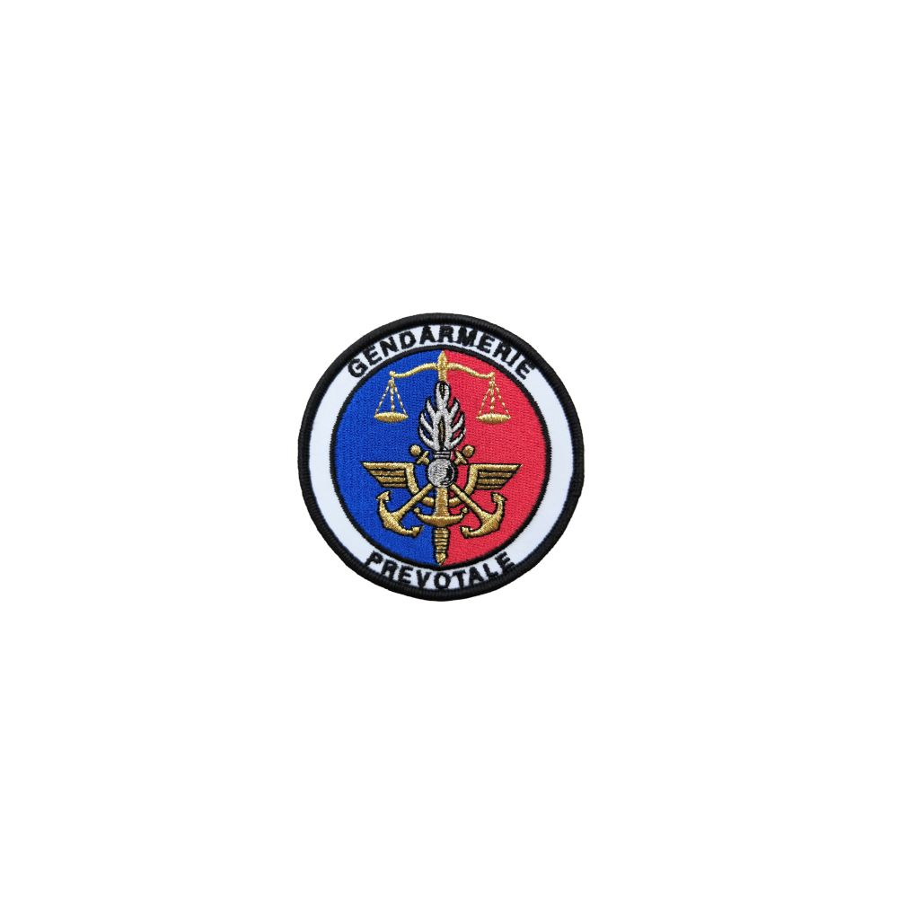 Ecusson de bras brodé Gendarmerie Prevotale
