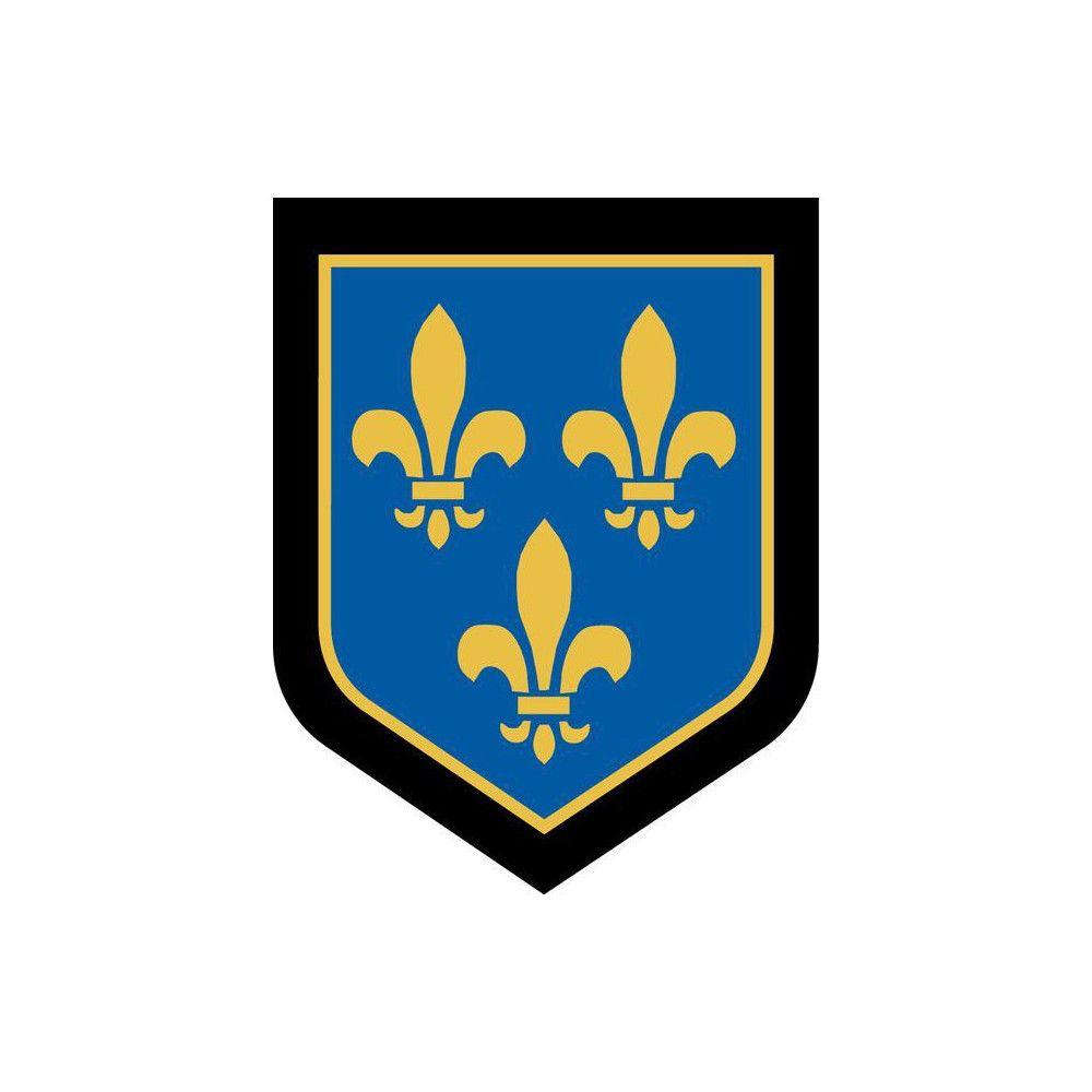 Ecusson de Bras Brode Gendarmerie Departementale Ile de france