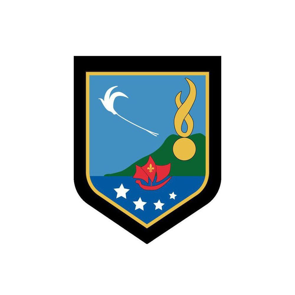 Ecusson de Bras Brode Gendarmerie Departementale la Reunion