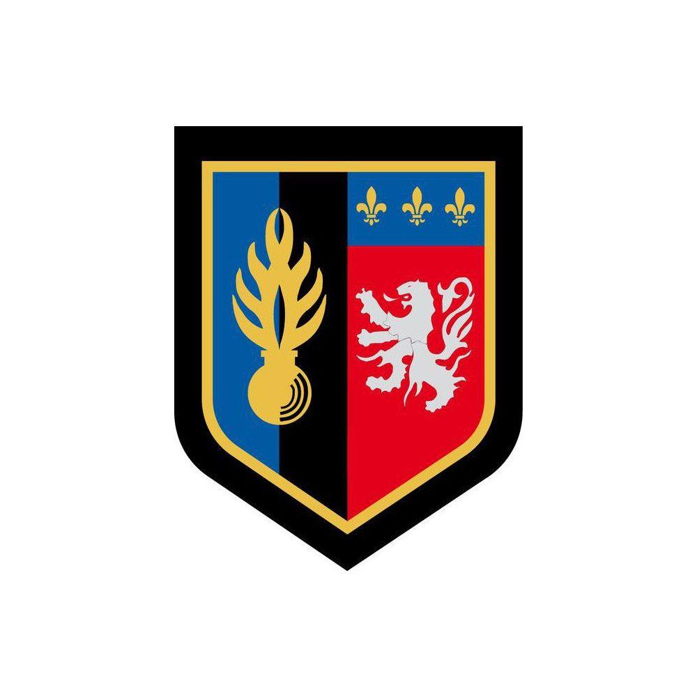 Ecusson de Bras Brode Zone de Defense de Lyon