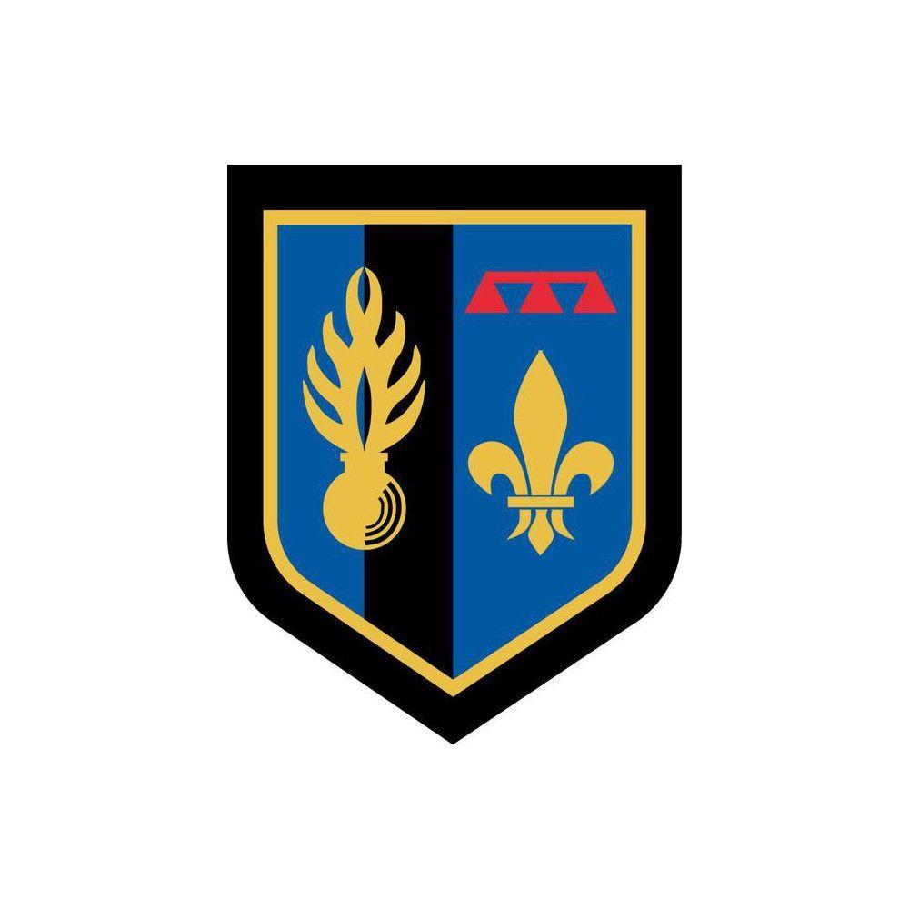 Ecusson de Bras Brode Zone de Defense de Marseille