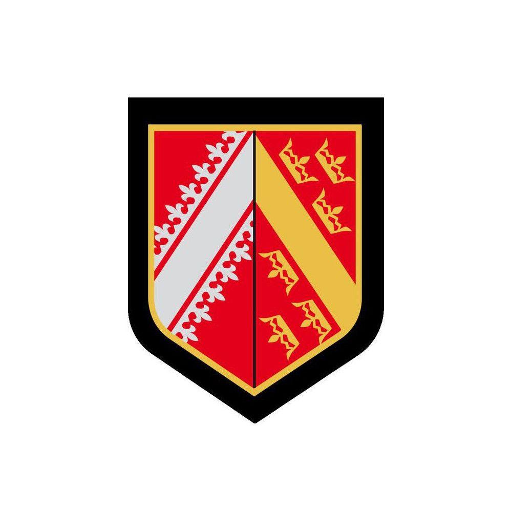 Ecusson de Bras Plastifie Gendarmerie Departementale Alsace