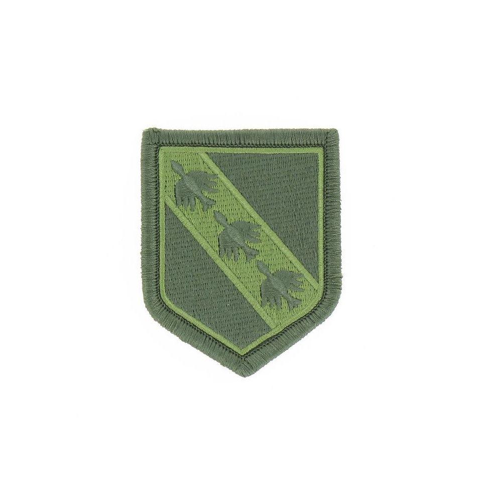 Ecusson de Bras Brode Gendarmerie Departemetale Lorraine Basse Visibilite Vert