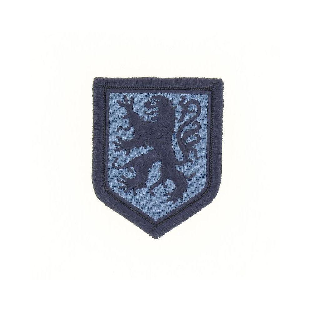 Ecusson de Bras Brode Gendarmerie Departemetale Midi Pyrenees Basse Visibilite Bleu