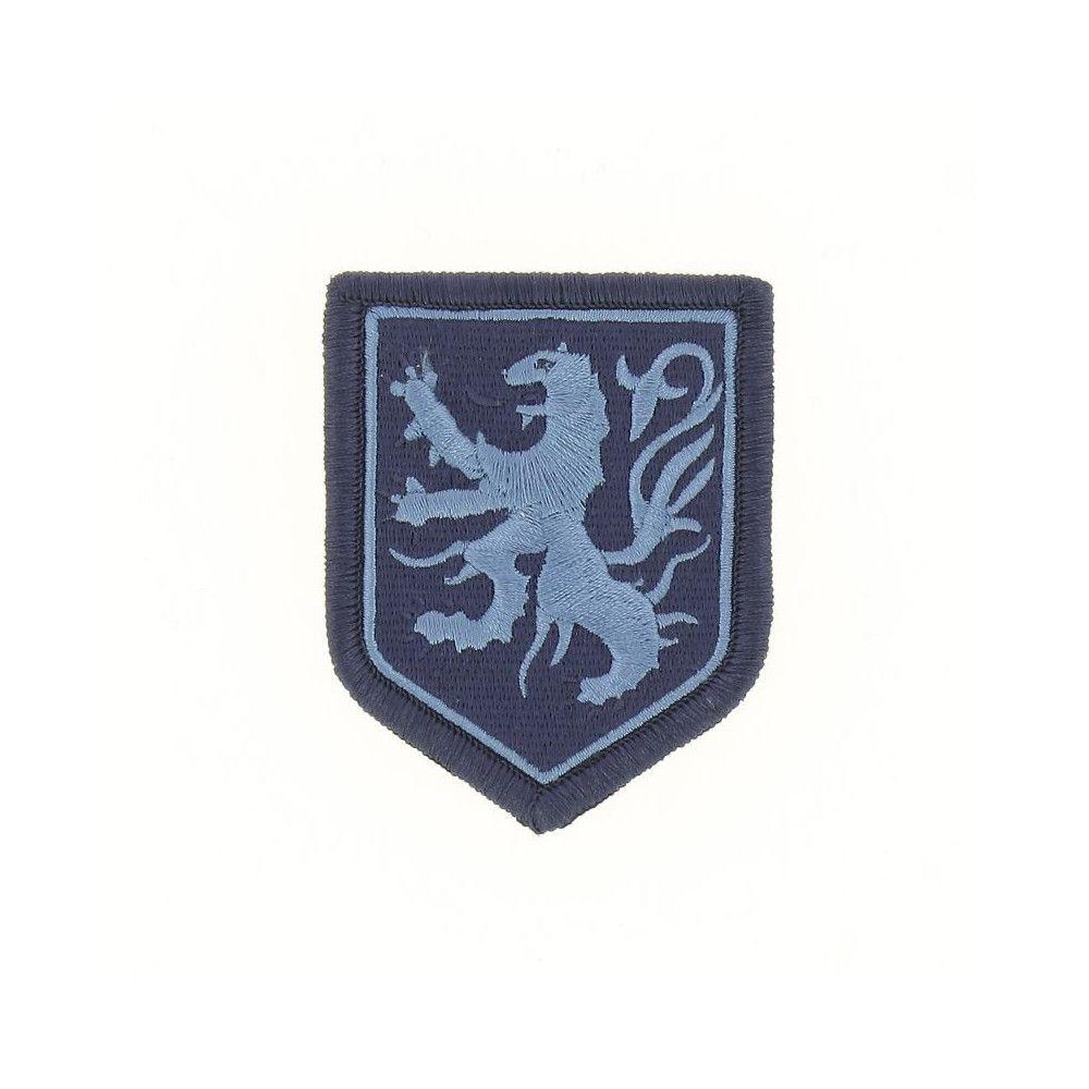 Ecusson de Bras Brode Gendarmerie Departemetale Nord Pas de Calais Basse Visibilite Bleu