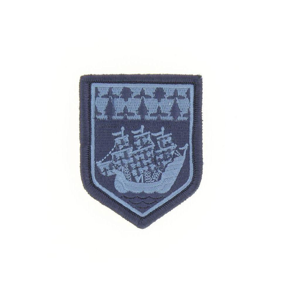 Ecusson de Bras Brode Gendarmerie Departemetale Pays de Loire Basse Visibilite Bleu