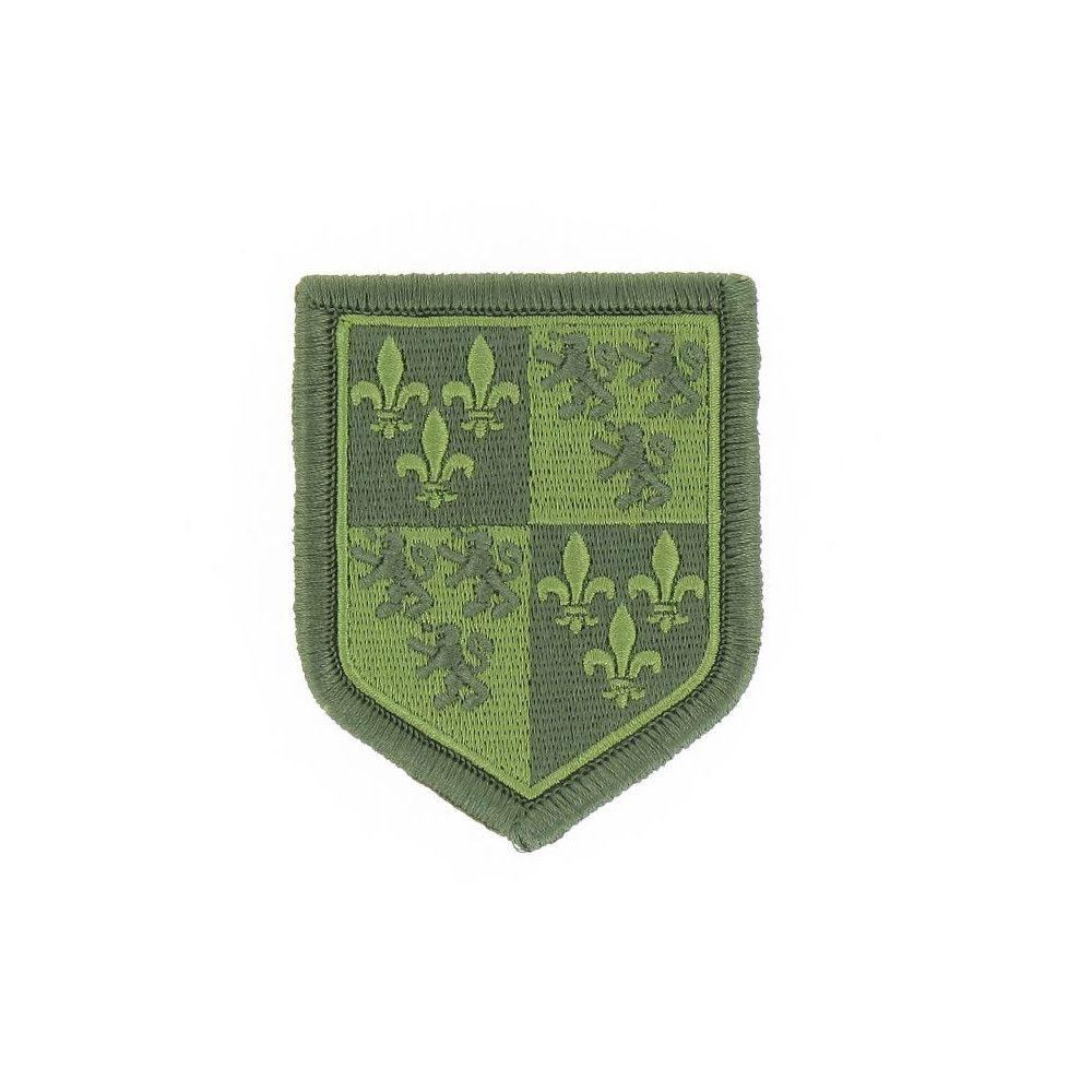Ecusson de Bras Brode Gendarmerie Departemetale Picardie Basse Visibilite Vert
