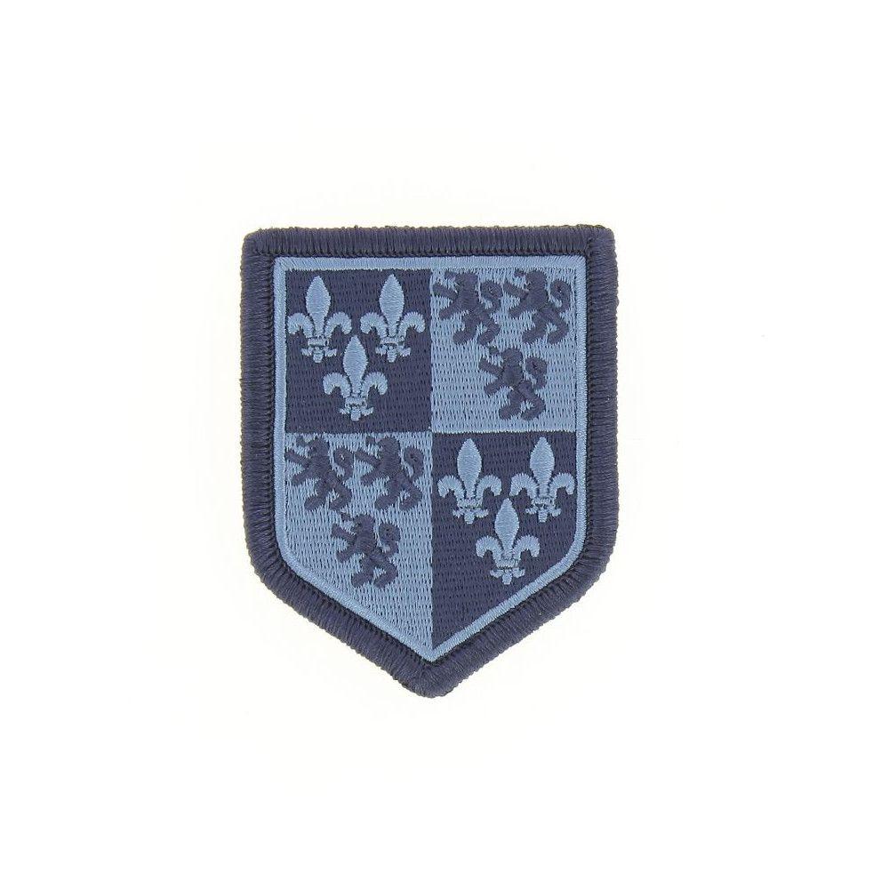Ecusson de Bras Brode Gendarmerie Departemetale Picardie Basse Visibilite Bleu