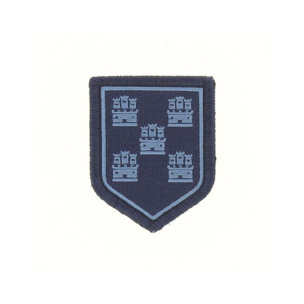 Ecusson de Bras Brode Gendarmerie Departemetale Poitou Charente Basse Visibilite Bleu