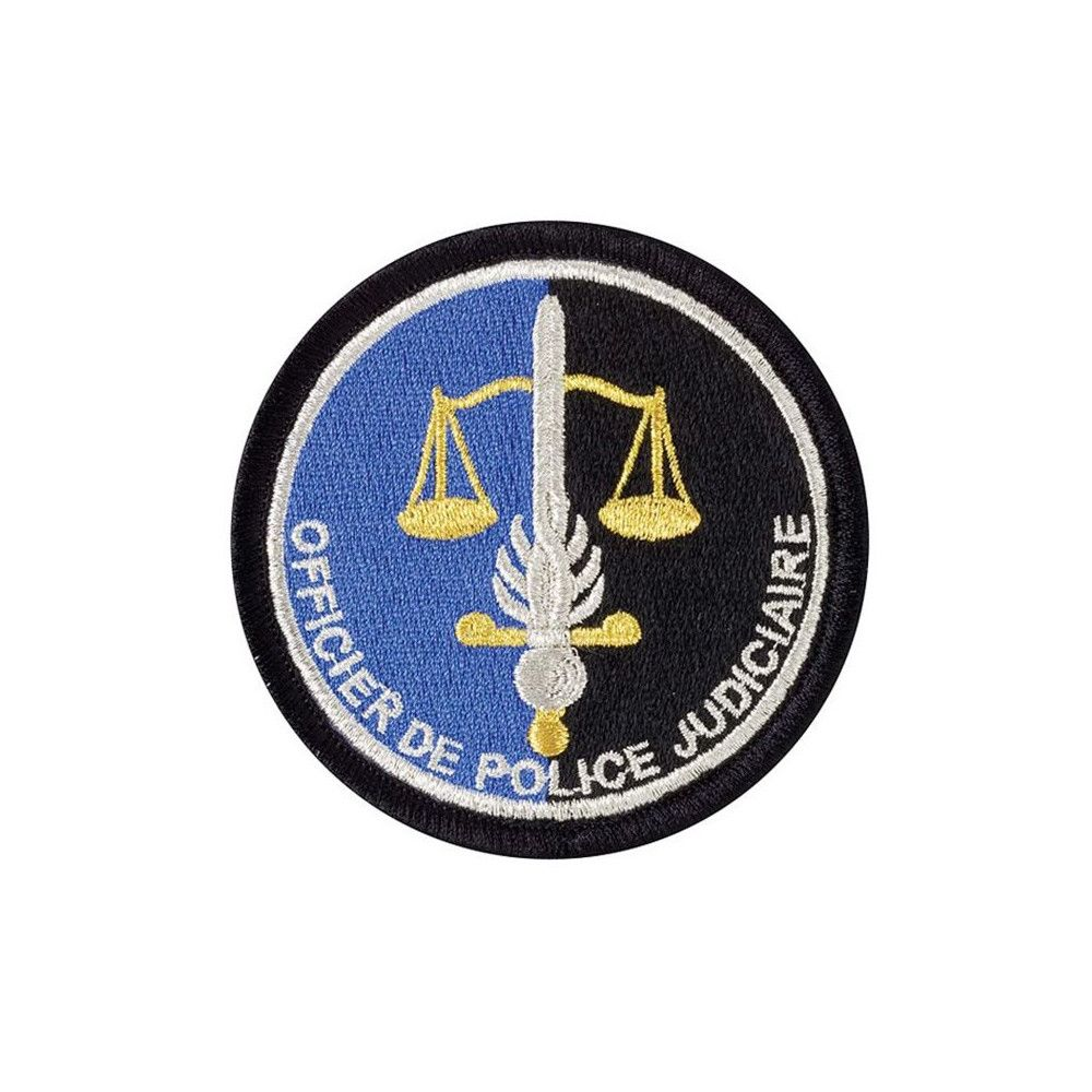 Ecusson de Bras Brode Gendarmerie OPJ