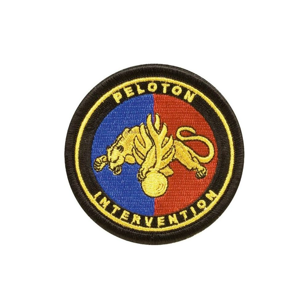 Ecusson de Bras Brode Gendarmerie Peloton Intervention