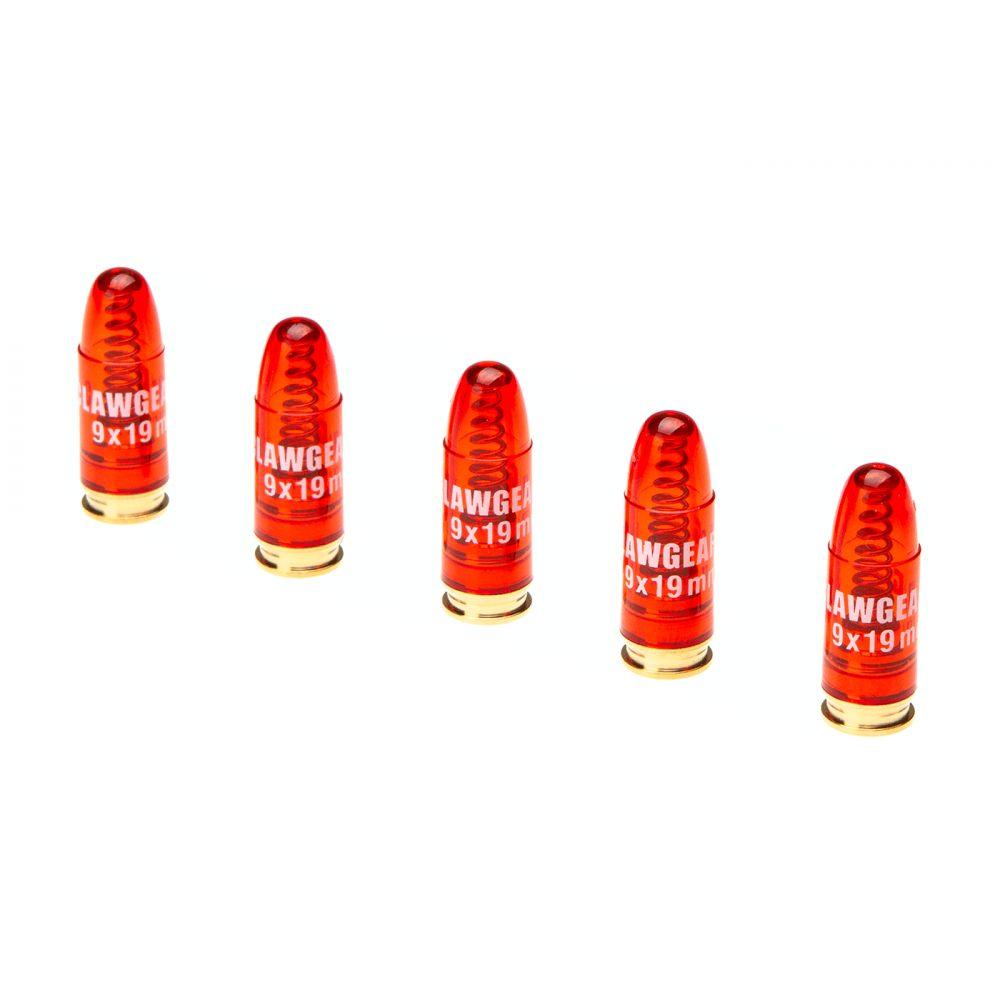 Munition d'instruction 9x19mm boite de 5