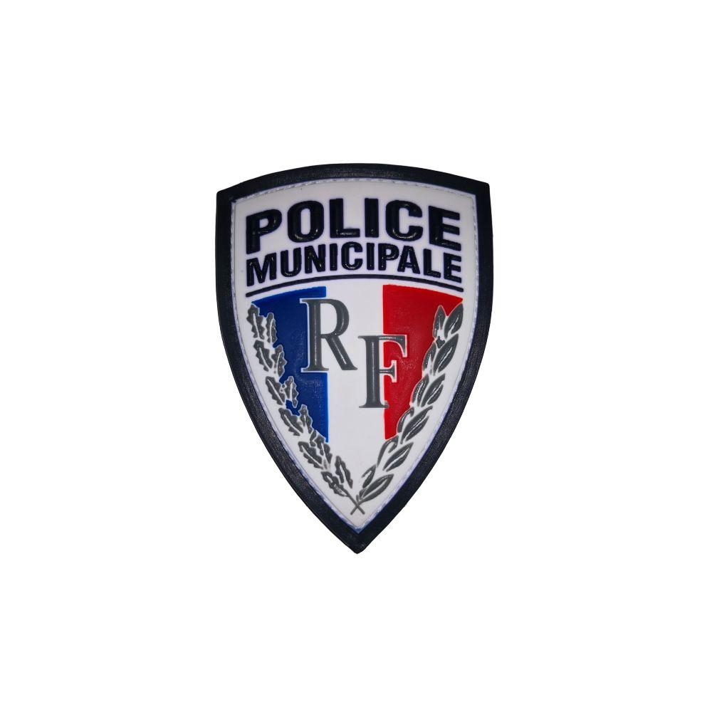 Ecusson de Bras PVC Police Municipale RF