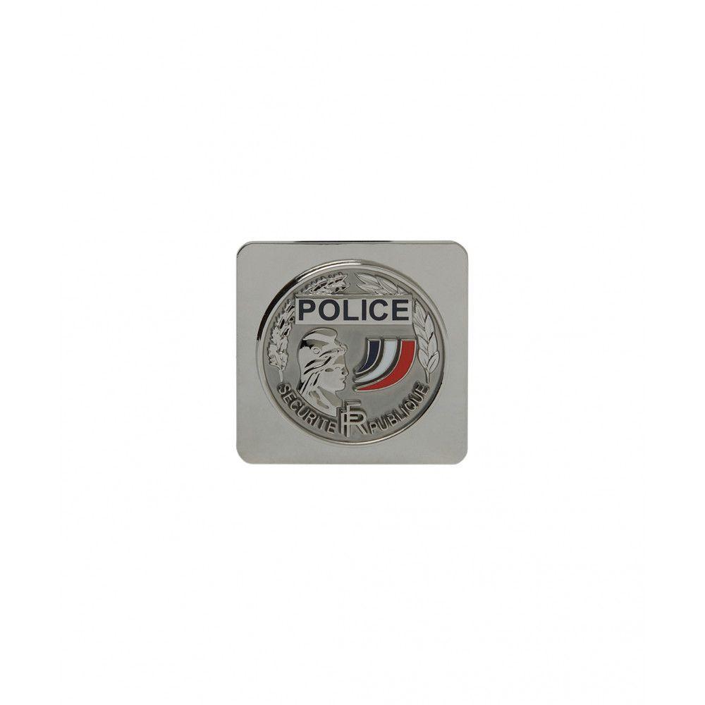 Médaille POLICE Nationale à support carré