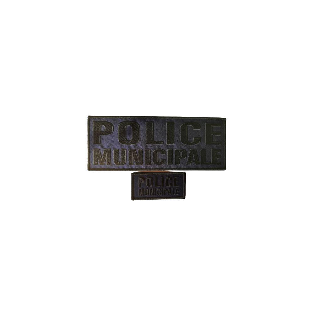 jeu de bandes Police Municipale basse visibilité