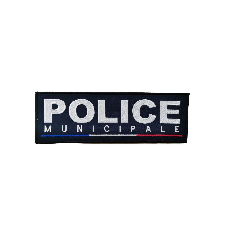 Jeu de bande Police Municipale brodé France