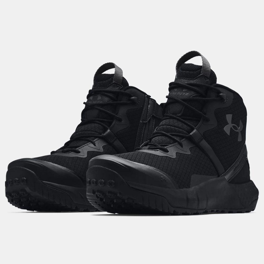 Chaussures d'intervention UA Micro G® Valsetz Zip Mid pour homme