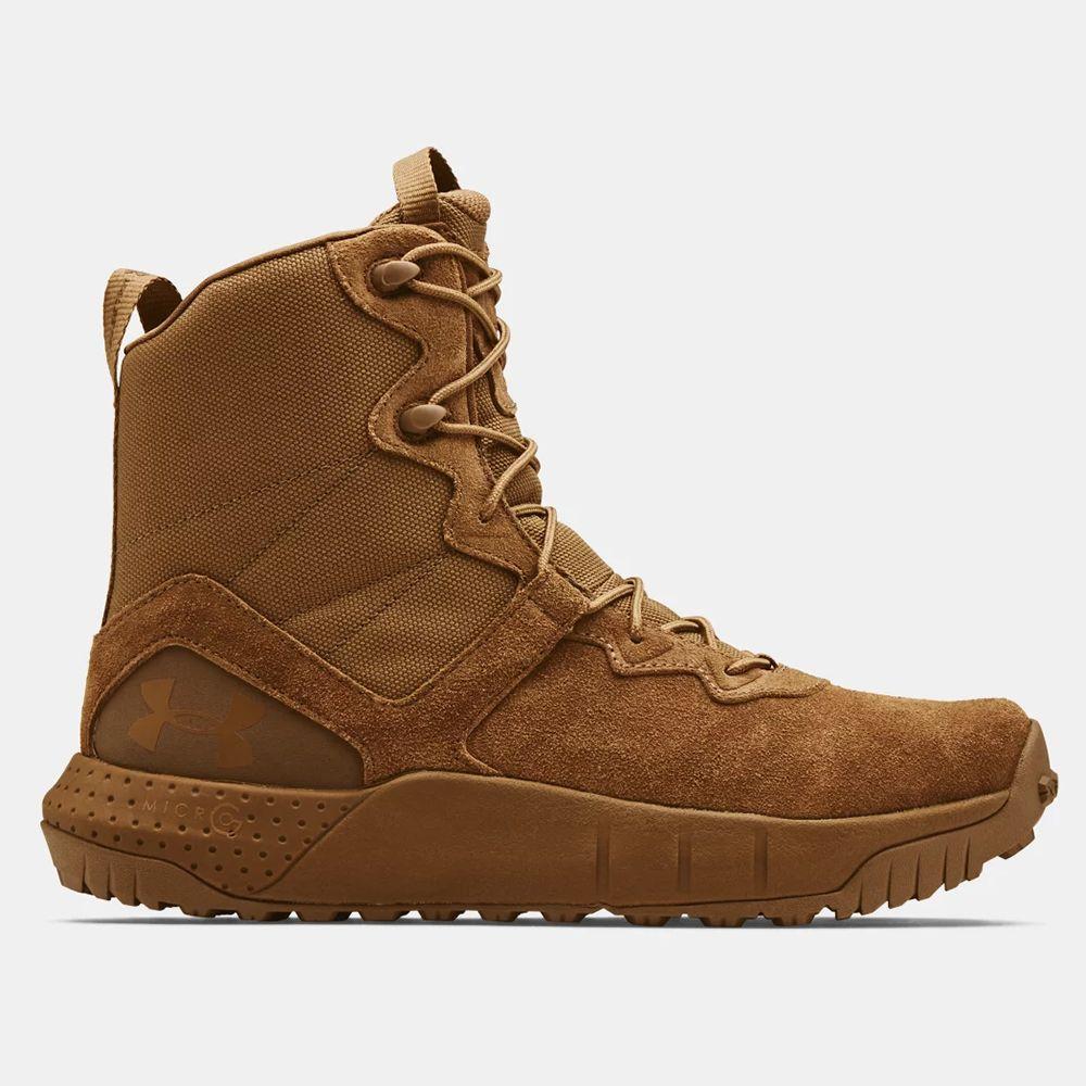 Chaussures d'intervention en cuir UA Micro G® Valsetz pour homme