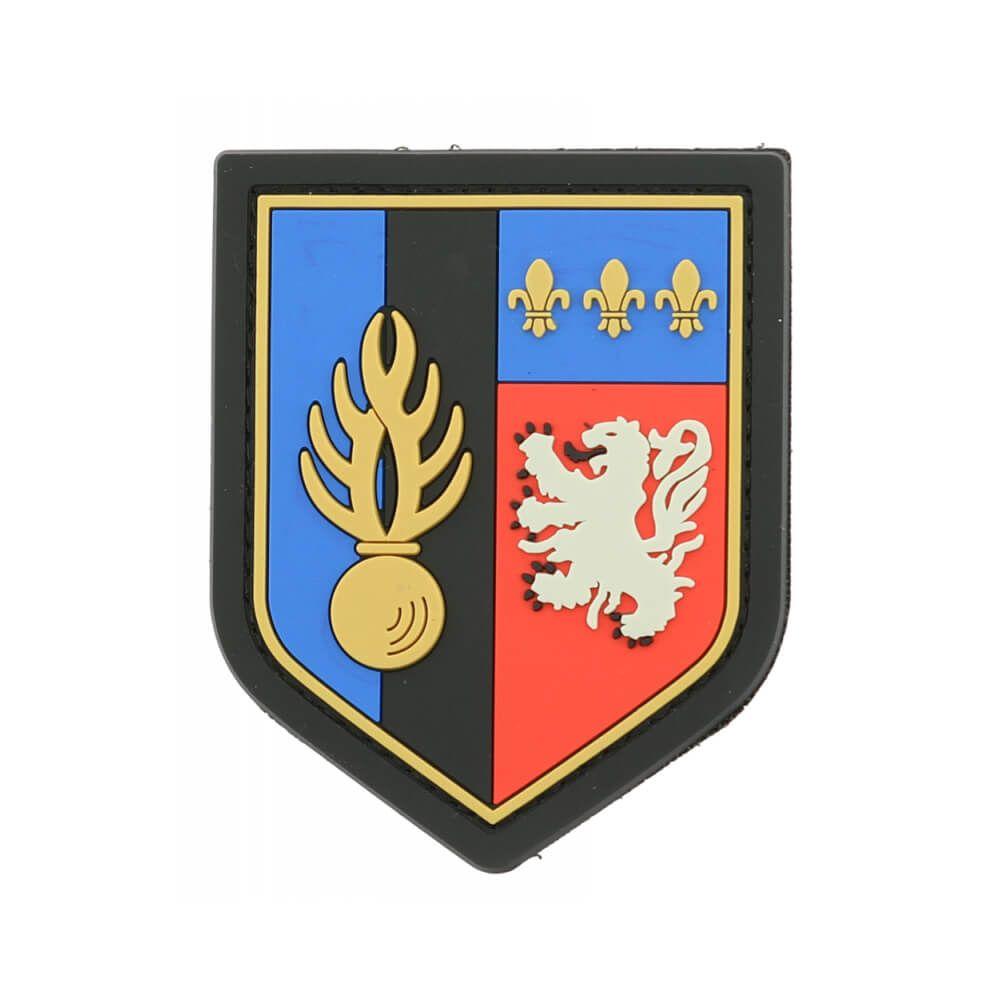 Ecusson de Bras PVC Zone de Defense de Lyon
