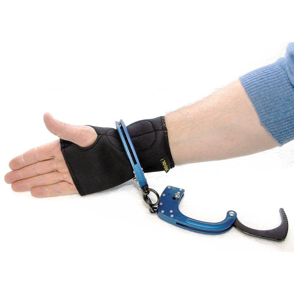 Manchette de protection pour exercice de menottage