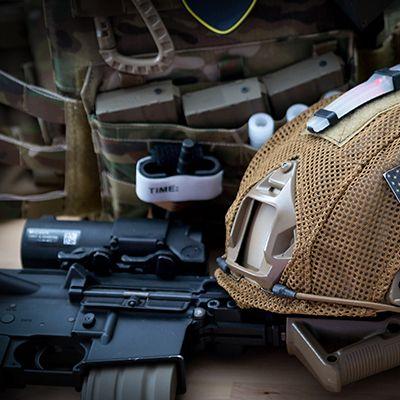Accessoires à la tenue pour militaires